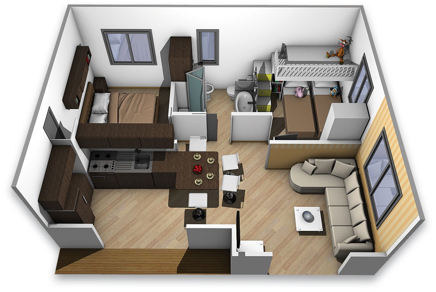 Next crippa concept luxury mobile homes and lodges for Mini case interni