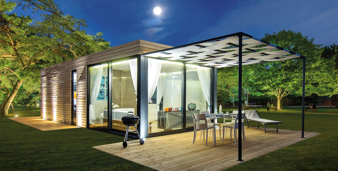 Freed home crippa concept luxury mobile homes and lodges for Mobel luxus designer